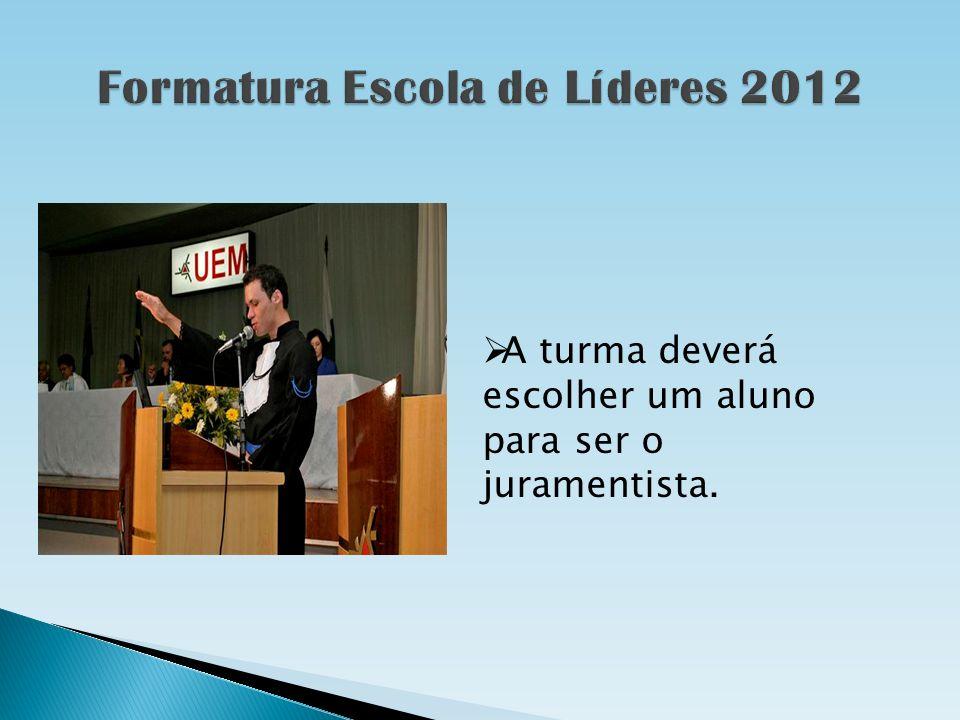 Formatura Escola de Líderes 2012