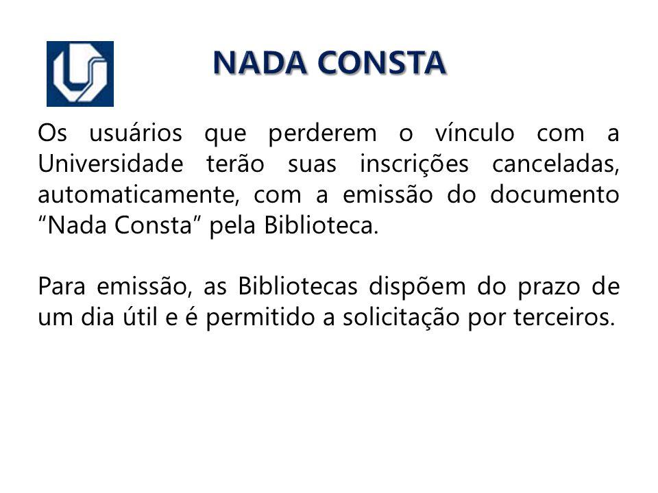 NADA CONSTA