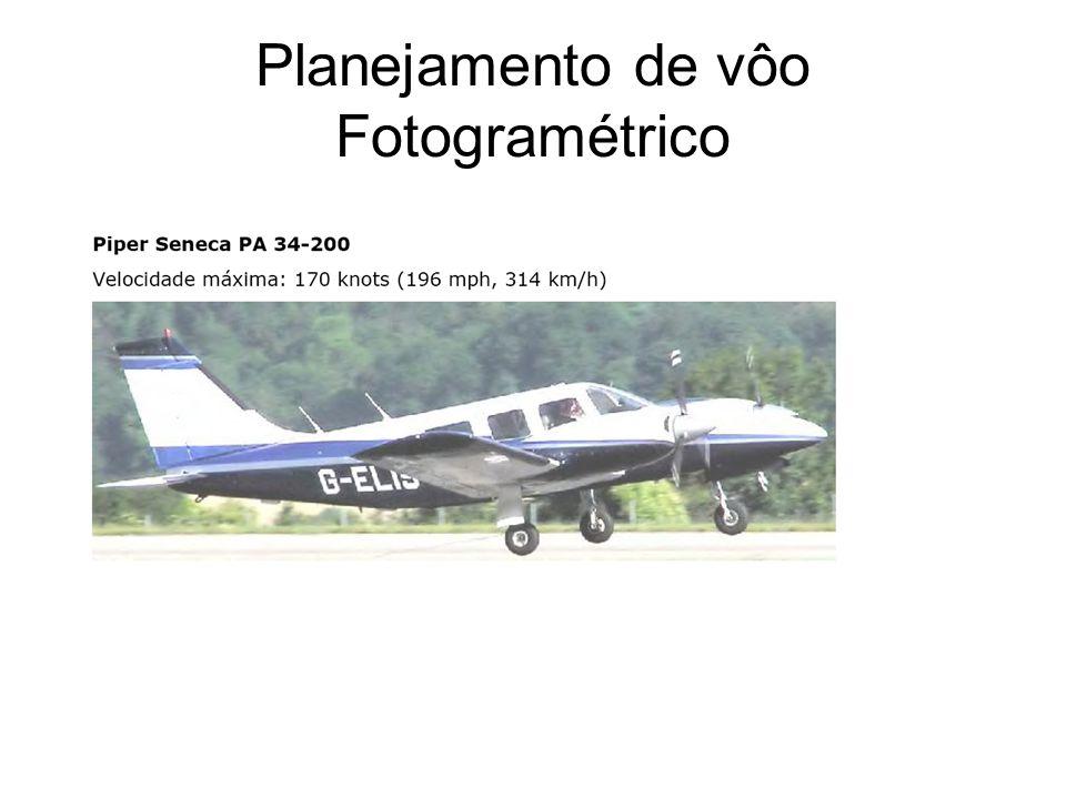 Planejamento de vôo Fotogramétrico