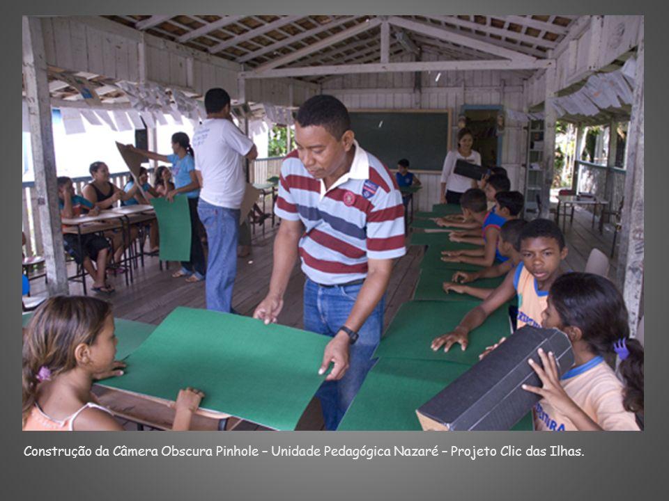 Construção da Câmera Obscura Pinhole – Unidade Pedagógica Nazaré – Projeto Clic das Ilhas.