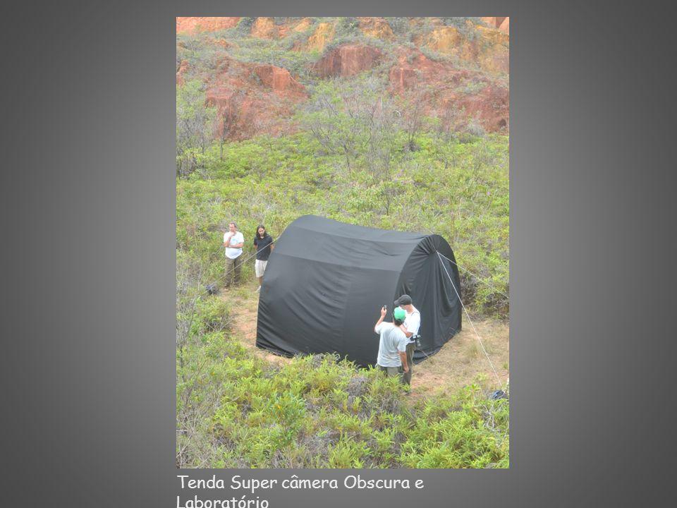 Tenda Super câmera Obscura e Laboratório