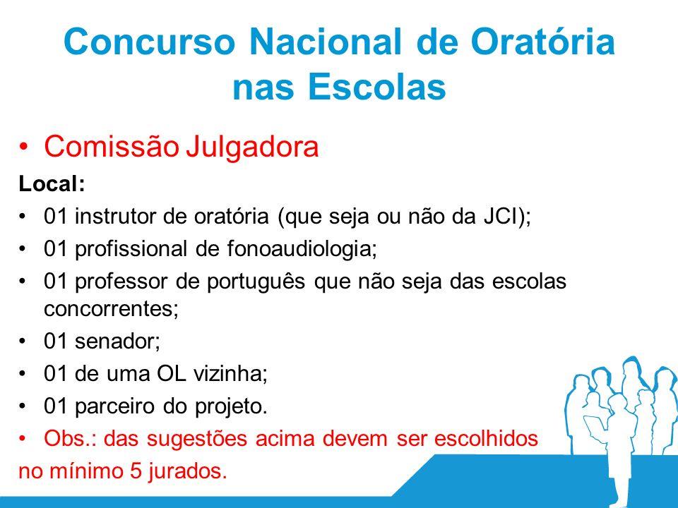 Concurso Nacional de Oratória nas Escolas