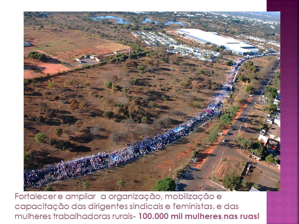 maior mobilização de trabalhadoras rurais do Brasil