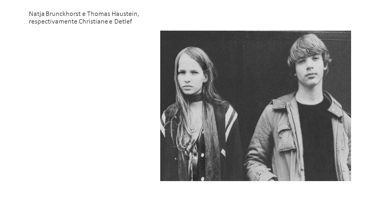 Natja Brunckhorst e Thomas Haustein, respectivamente Christiane e Detlef