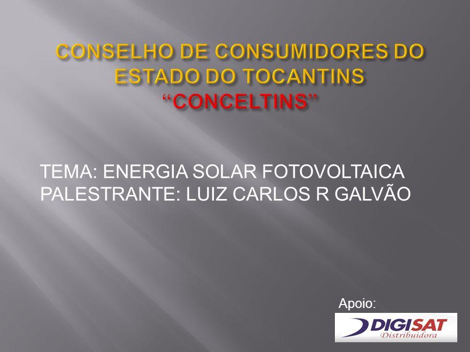 CONSELHO DE CONSUMIDORES DO ESTADO DO TOCANTINS CONCELTINS