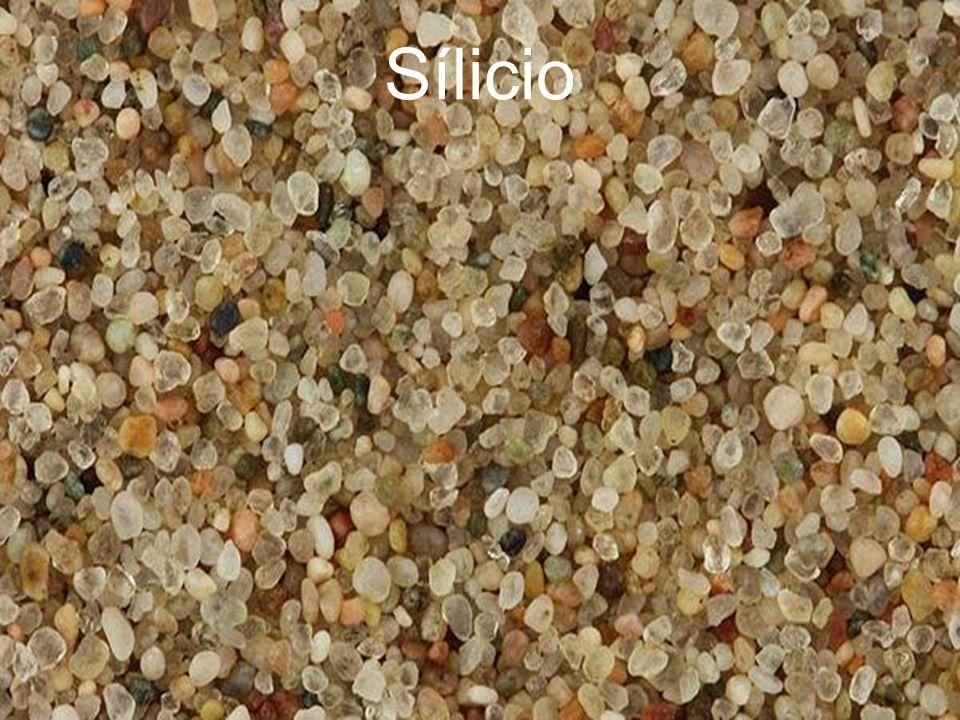 Sílicio O Sílicio e segundo elemento mais abundante da face da terra.