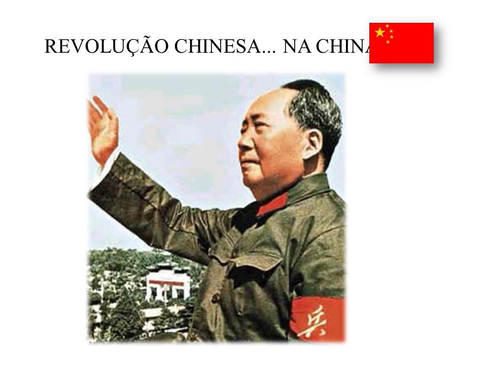 REVOLUÇÃO CHINESA... NA CHINA!