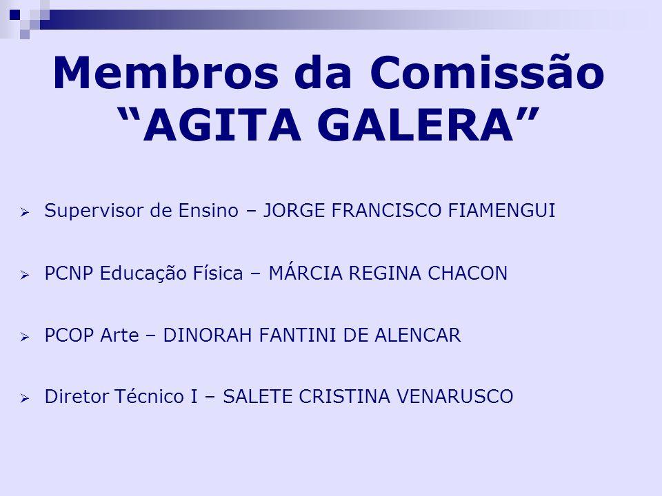 Membros da Comissão AGITA GALERA