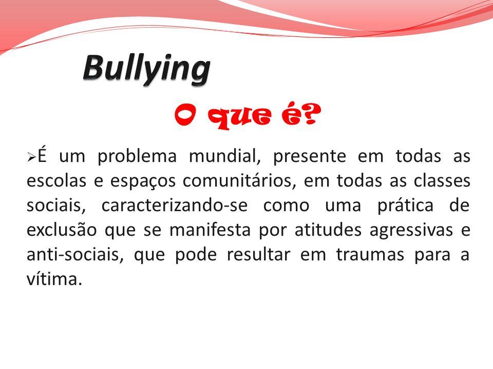 Bullying O que é