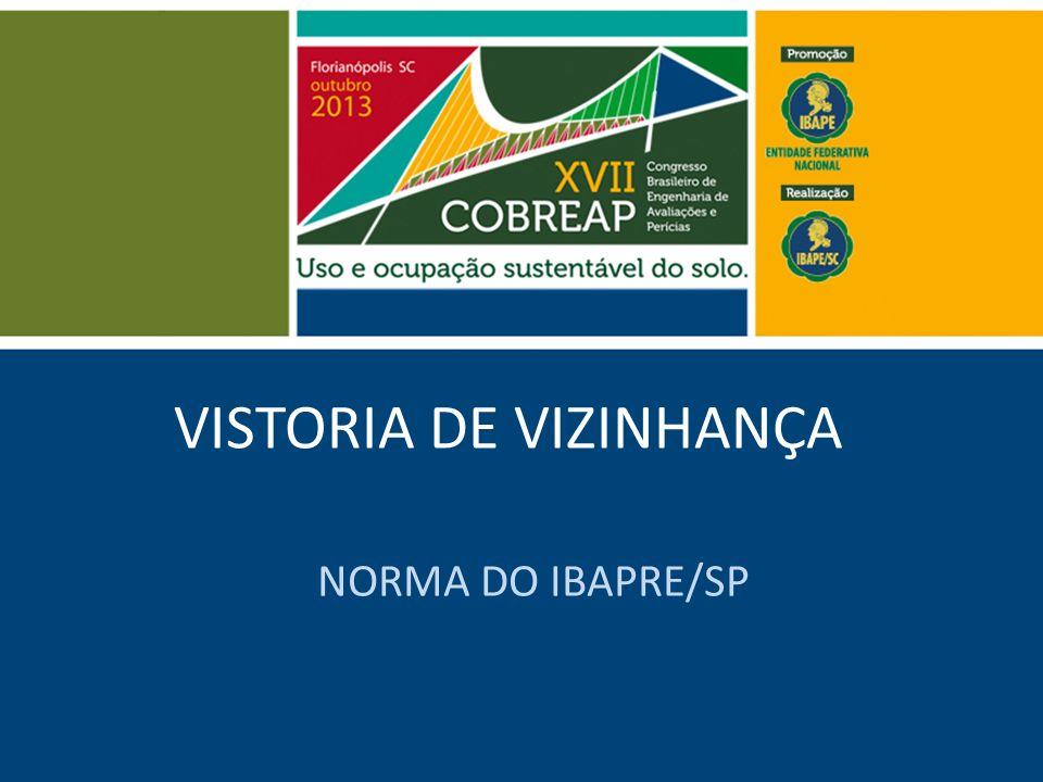 VISTORIA DE VIZINHANÇA