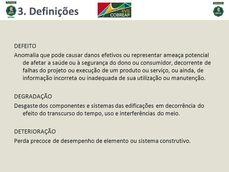 3. Definições DEFEITO.