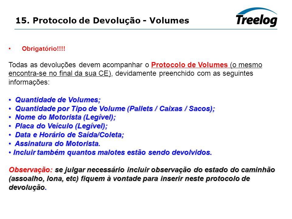 15. Protocolo de Devolução - Volumes