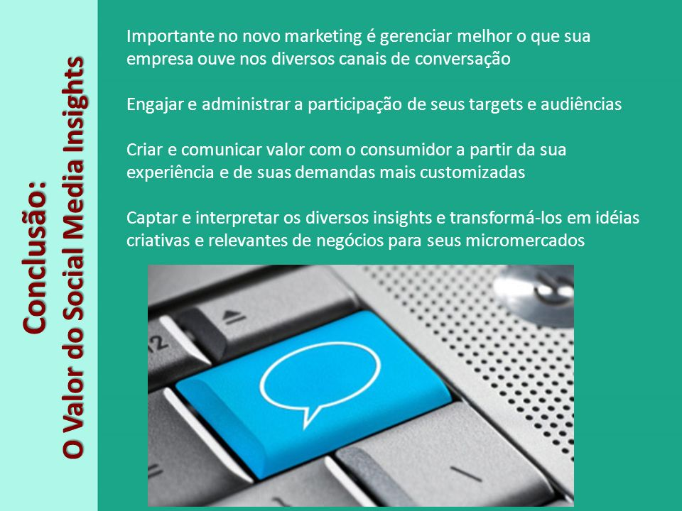 O Valor do Social Media Insights