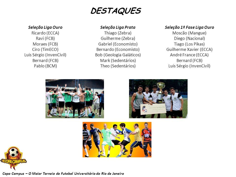 Seleção 1º Fase Liga Ouro