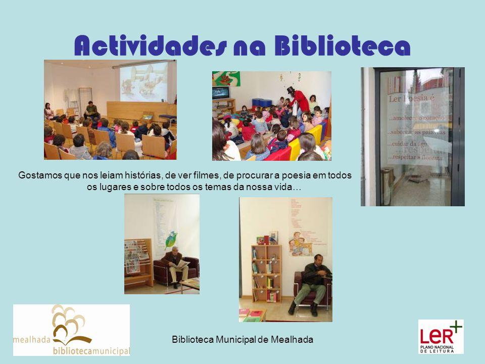 Actividades na Biblioteca