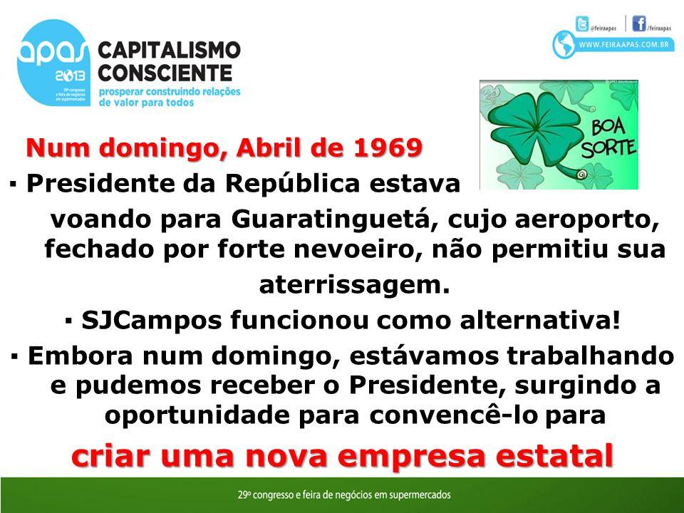 ▪ SJCampos funcionou como alternativa! criar uma nova empresa estatal