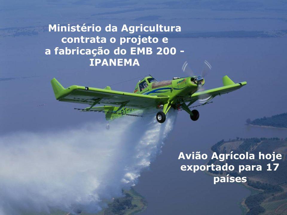 Ministério da Agricultura contrata o projeto e