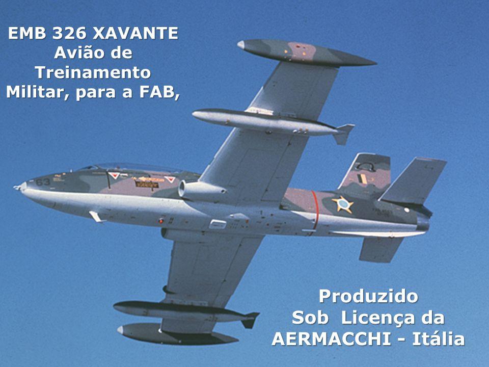 Sob Licença da AERMACCHI - Itália