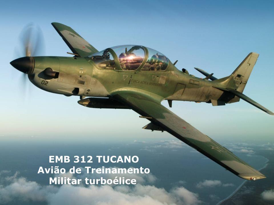 EMB 312 TUCANO Avião de Treinamento Militar turboélice
