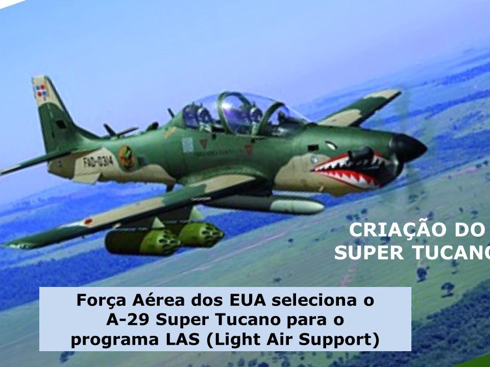 Força Aérea dos EUA seleciona o programa LAS (Light Air Support)