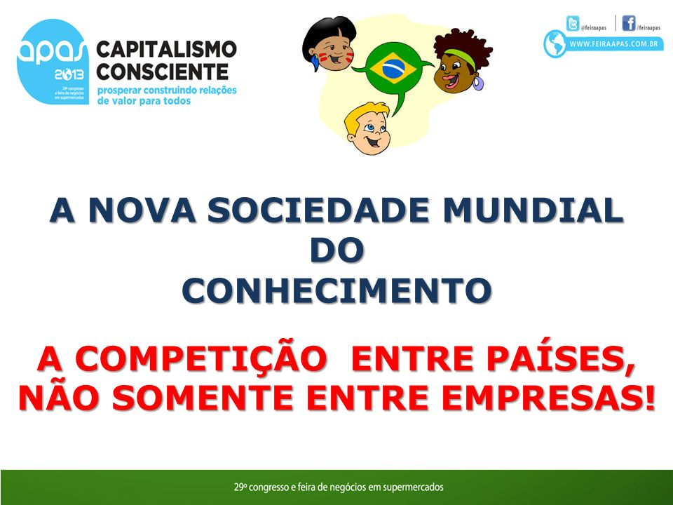 A NOVA SOCIEDADE MUNDIAL DO CONHECIMENTO