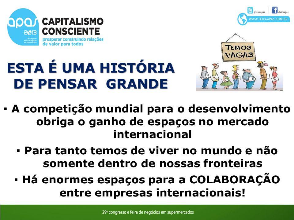 ESTA É UMA HISTÓRIA DE PENSAR GRANDE