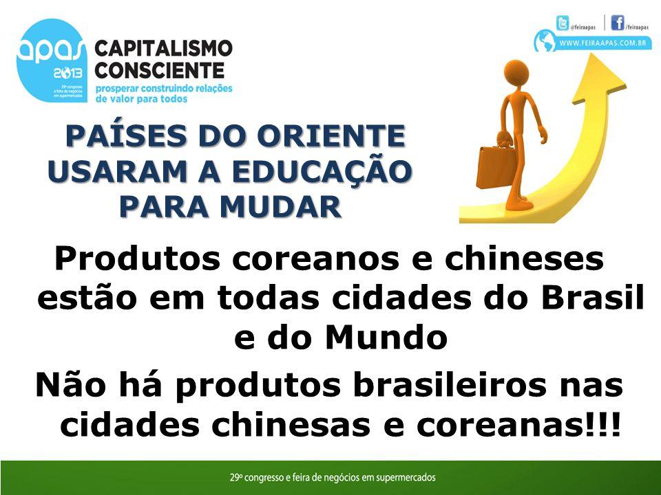 PAÍSES DO ORIENTE USARAM A EDUCAÇÃO PARA MUDAR