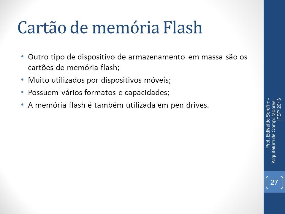 Cartão de memória Flash