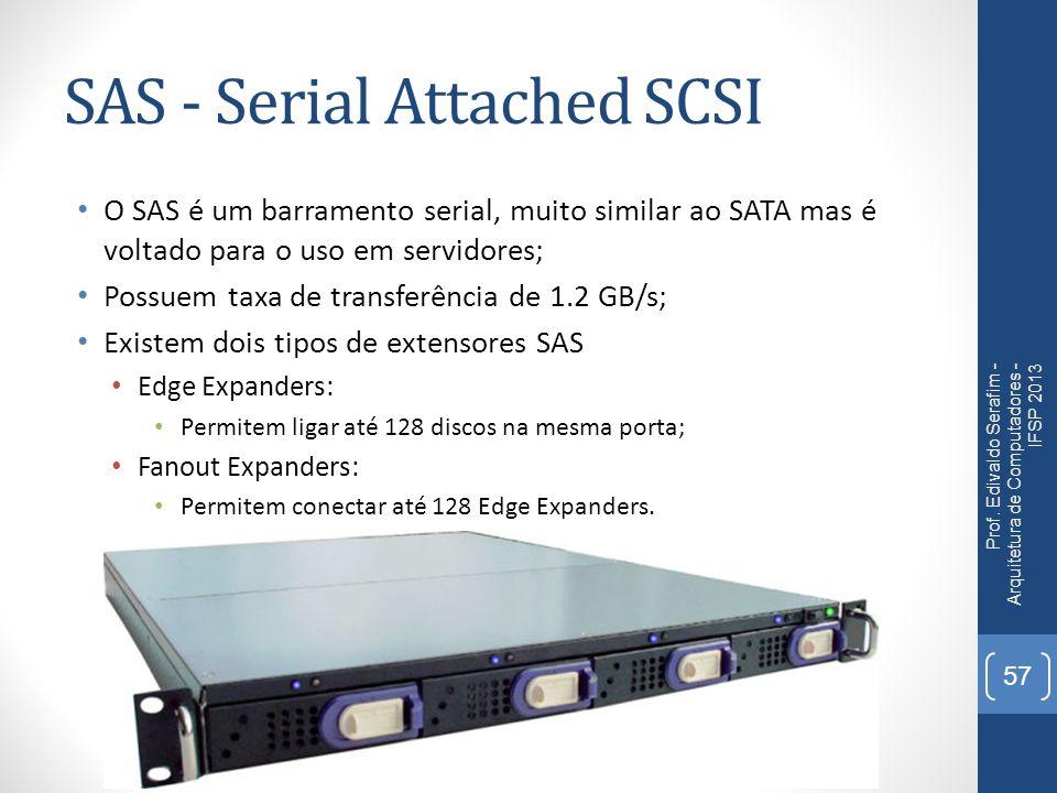 SAS - Serial Attached SCSI