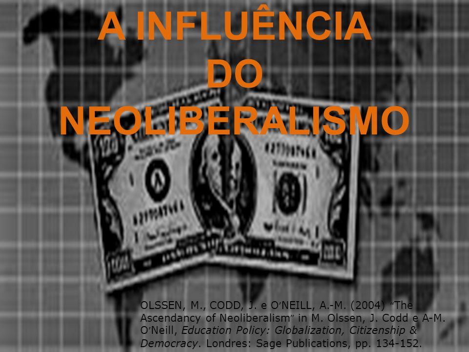 A INFLUÊNCIA DO NEOLIBERALISMO
