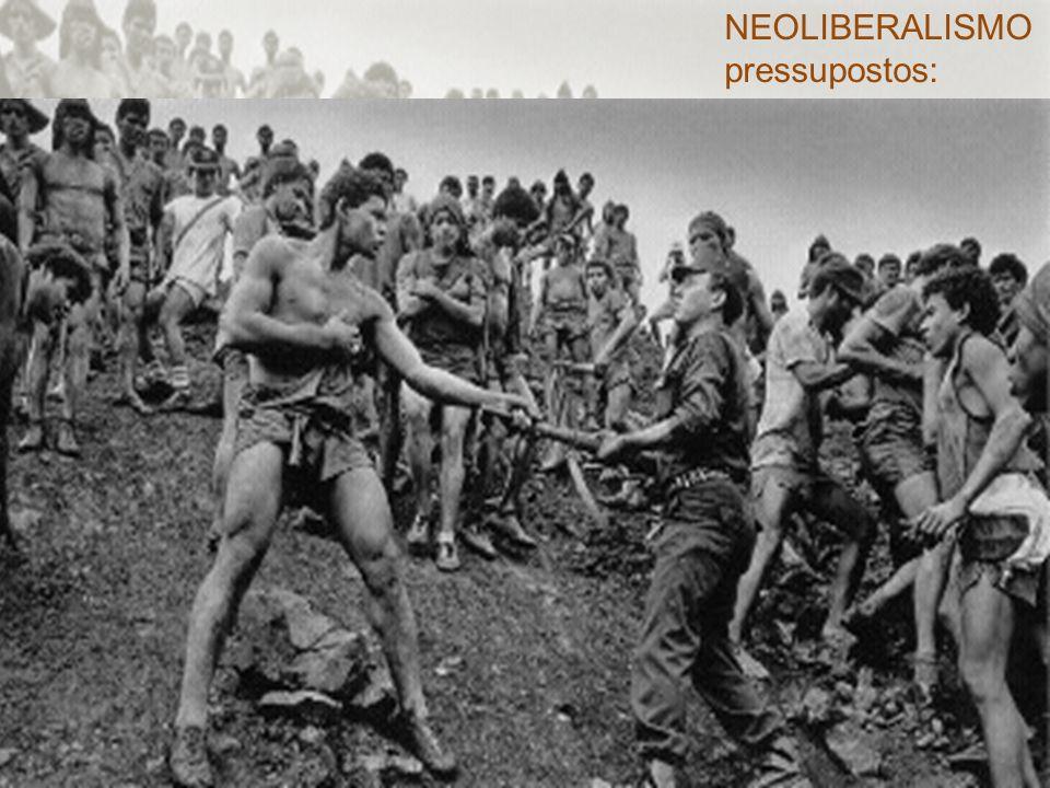 NEOLIBERALISMO pressupostos: o pensamento neoclássico.