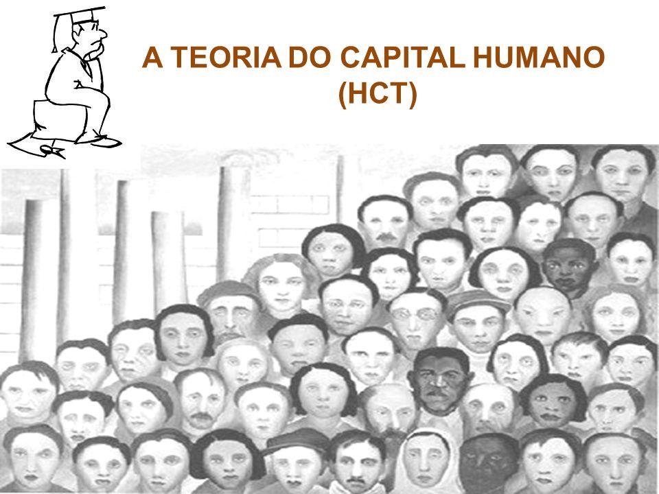 A TEORIA DO CAPITAL HUMANO