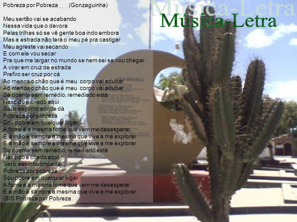 Música-Letra Pobreza por Pobreza (Gonzaguinha)