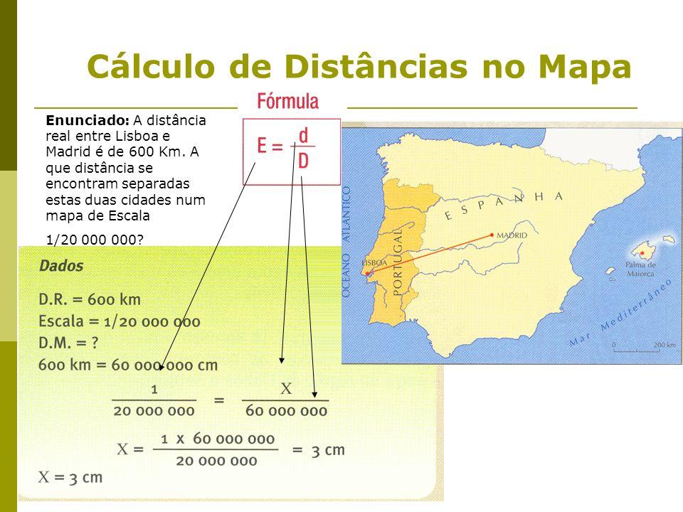 Cálculo de Distâncias no Mapa