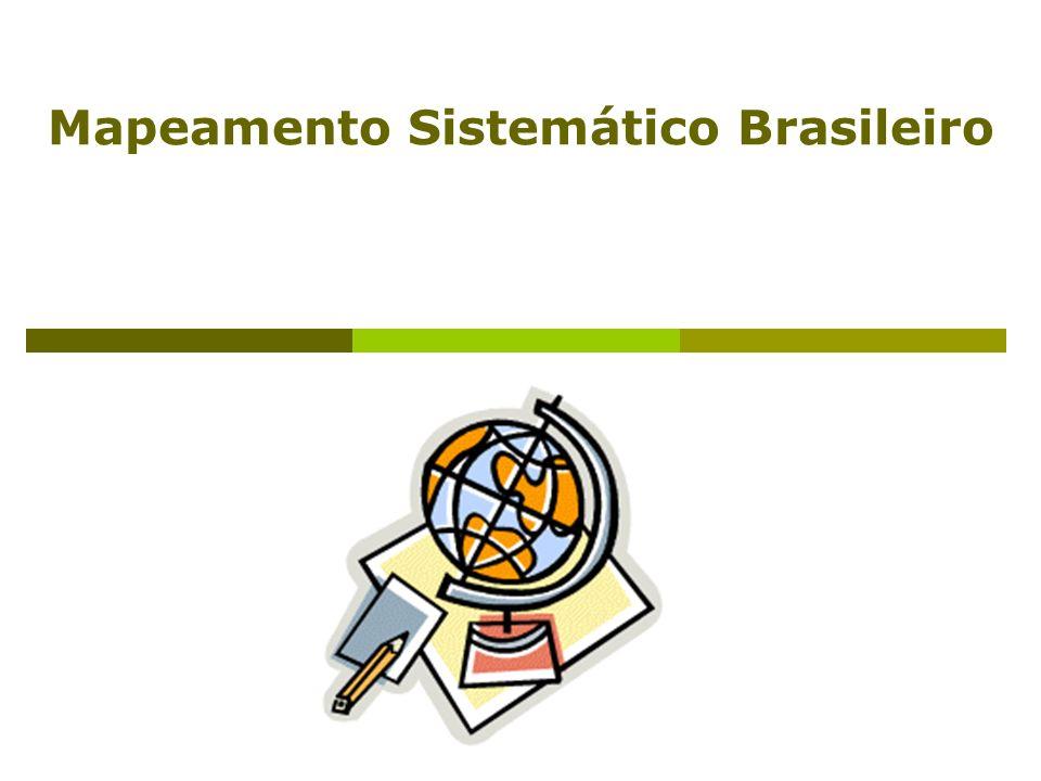 Mapeamento Sistemático Brasileiro