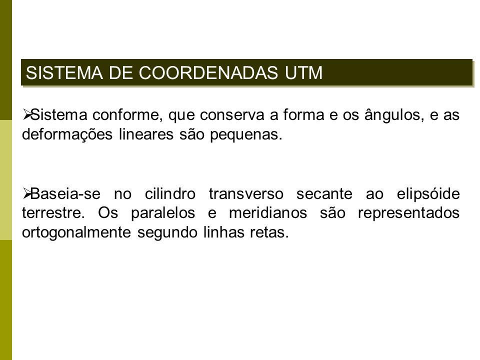 SISTEMA DE COORDENADAS UTM