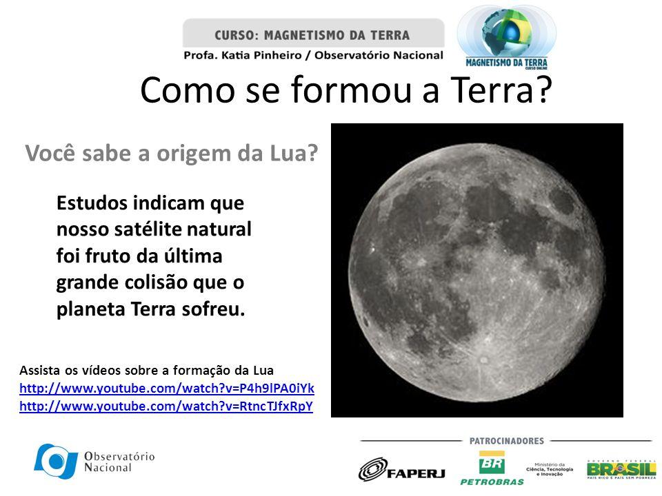 Como se formou a Terra Você sabe a origem da Lua