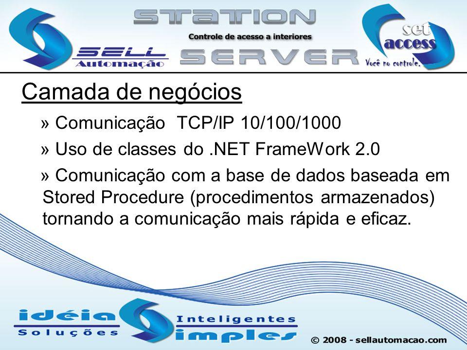 Camada de negócios » Comunicação TCP/IP 10/100/1000