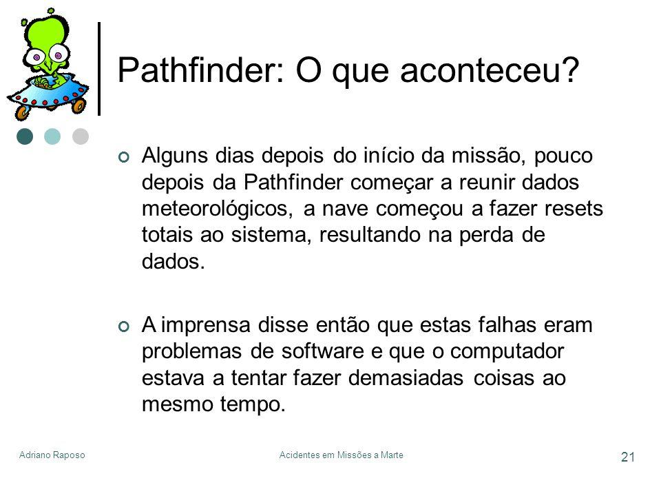 Pathfinder: O que aconteceu