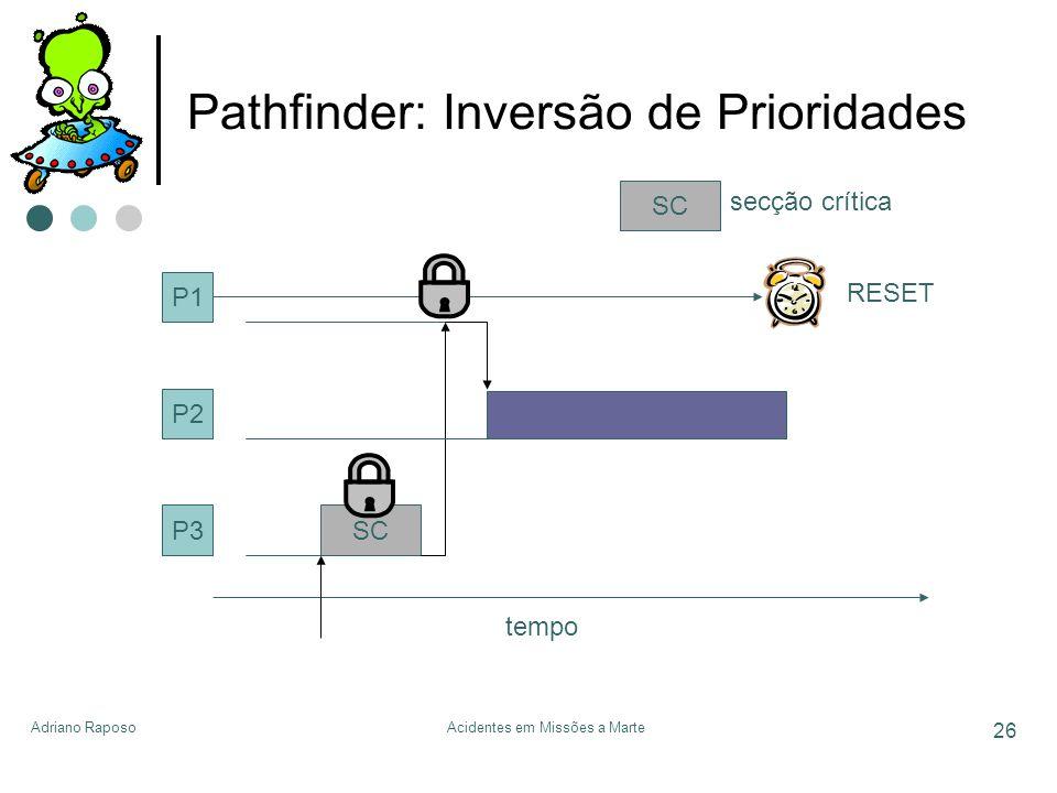 Pathfinder: Inversão de Prioridades