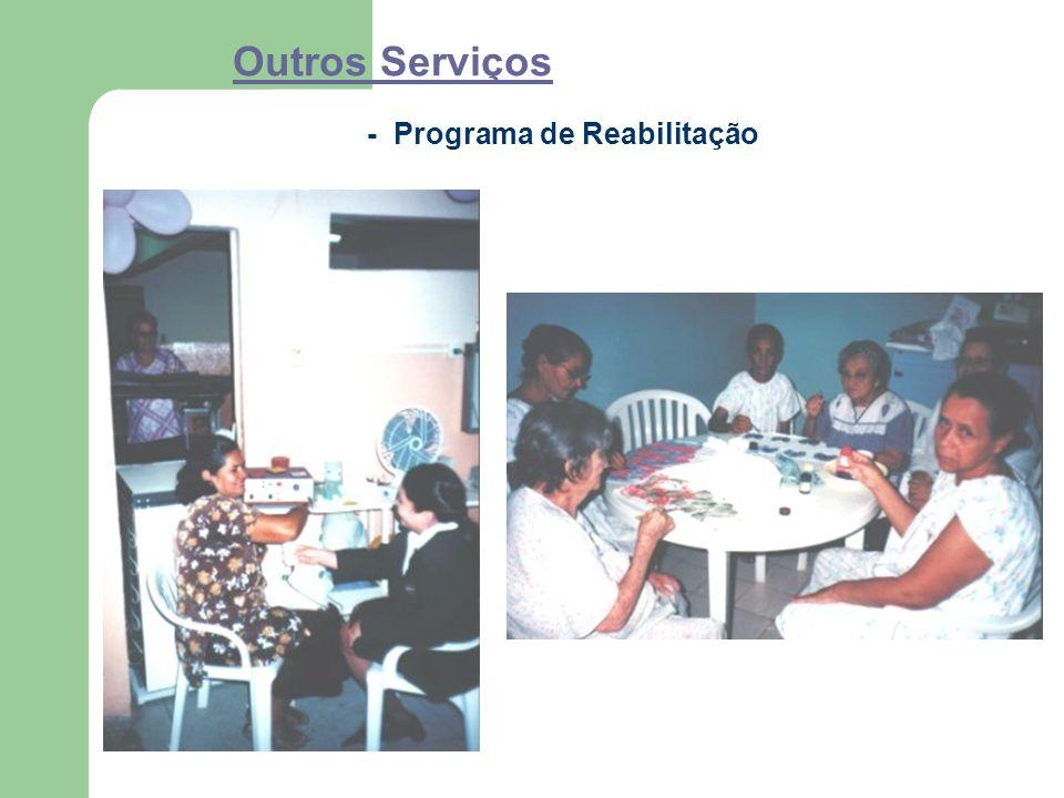 Outros Serviços - Programa de Reabilitação
