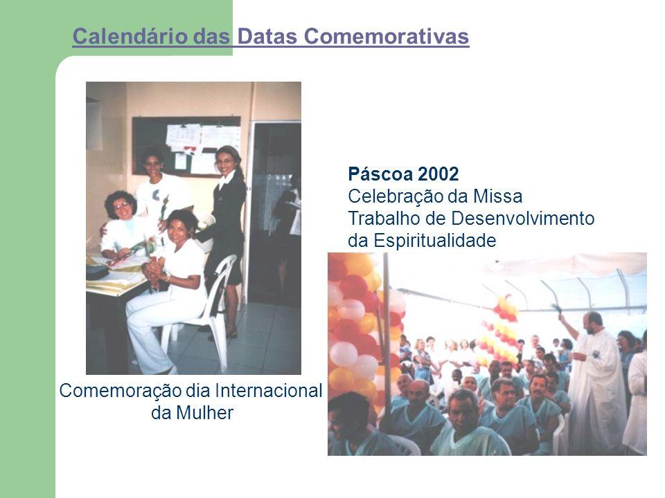 Calendário das Datas Comemorativas