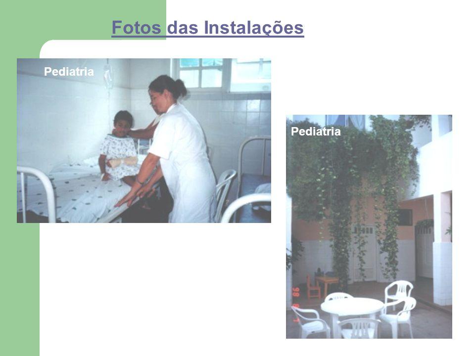 Fotos das Instalações Pediatria Pediatria