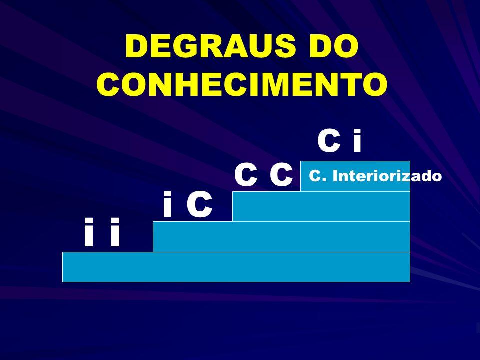 DEGRAUS DO CONHECIMENTO