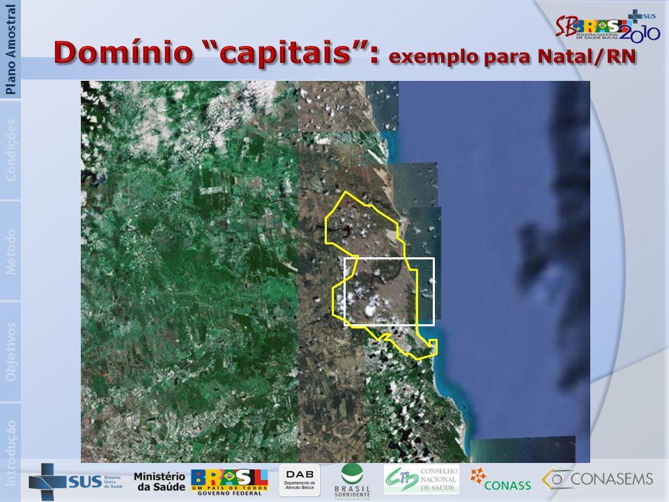 Domínio capitais : exemplo para Natal/RN