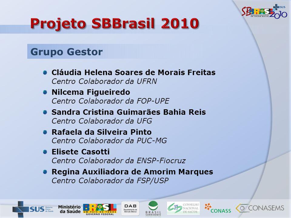 Projeto SBBrasil 2010 Grupo Gestor