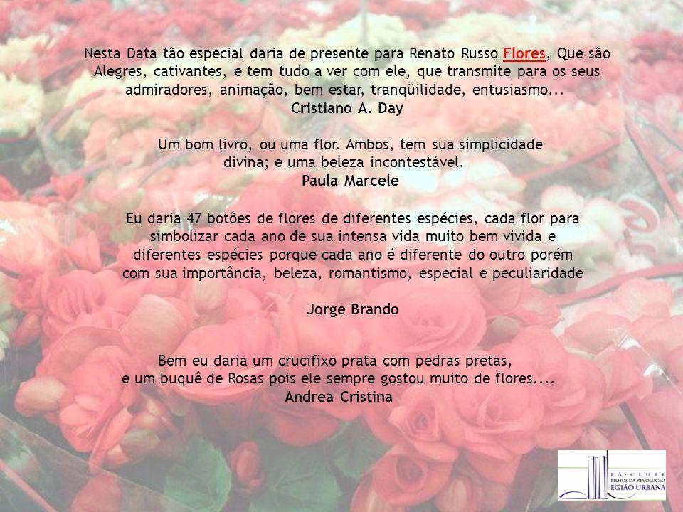 Cristiano A. Day Paula Marcele Jorge Brando Andrea Cristina