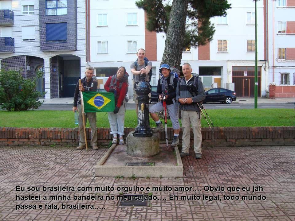 Eu sou brasileira com muito orgulho e muito amor…