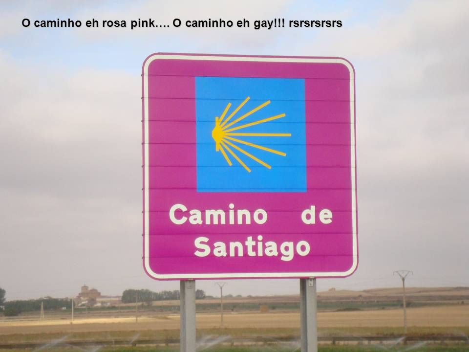 O caminho eh rosa pink…. O caminho eh gay!!! rsrsrsrsrs