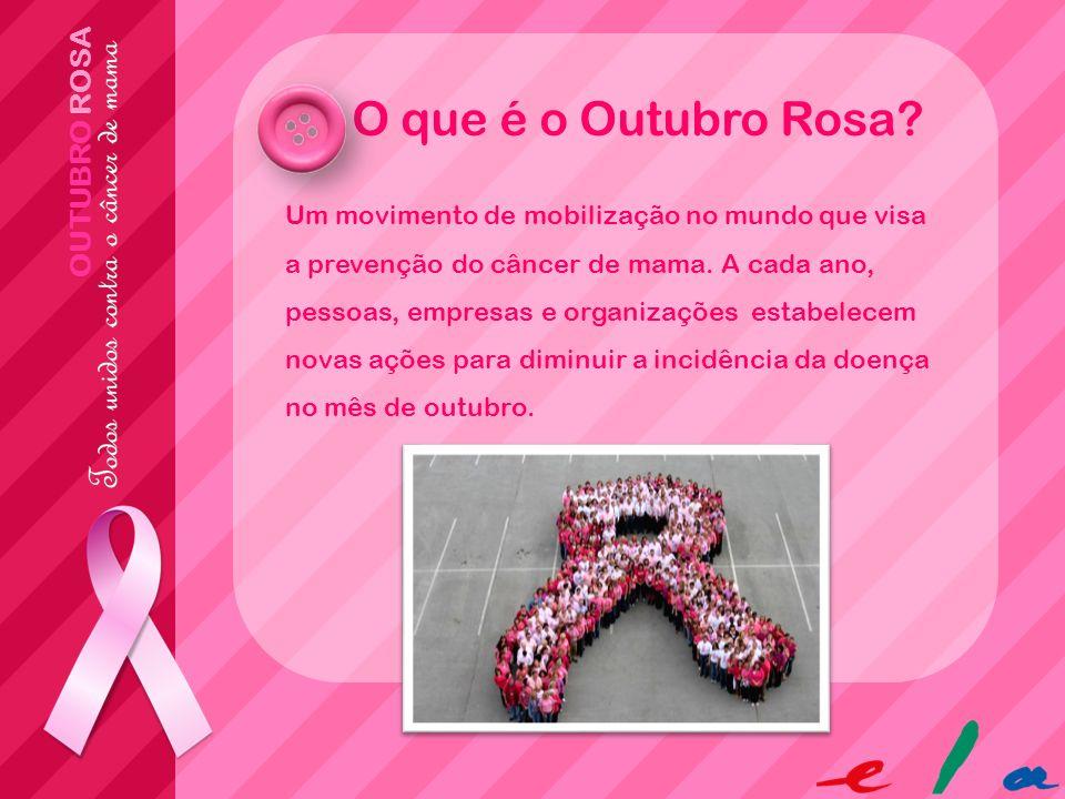 O que é o Outubro Rosa OUTUBRO ROSA